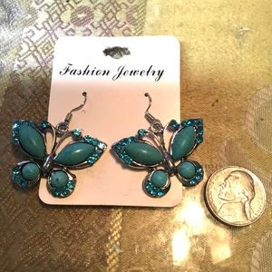 Up Wind Butterfly Earrings